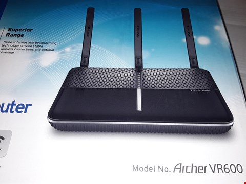 Lot 12416 TP-LINK AC1600 ARCHER VR600 WIRELESS ROUTER