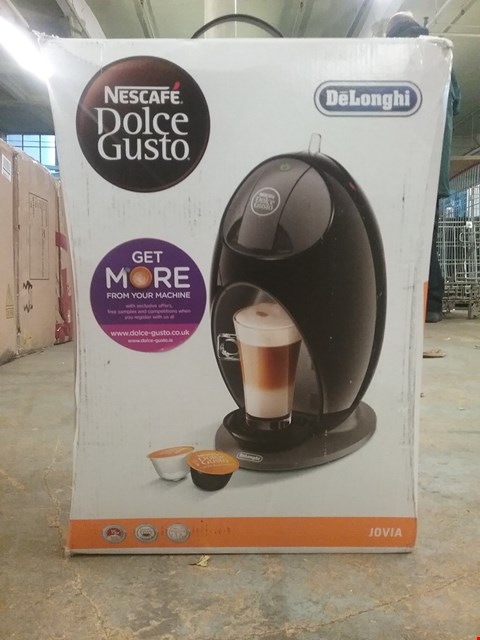 Lot 2217 BOXED GRADE 1 DELONGHI JOVIA POD MACHINE RRP £125