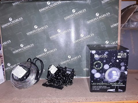 Lot 4290 LOT OF APPROXIMATELY 20 ASSORTED SETS OF CHRISTMAS LIGHTS