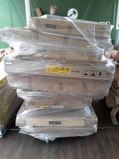 Lot 554 PALLET OF ASSORTED FLAT PACK FURNITURE PARTS (BOXED)