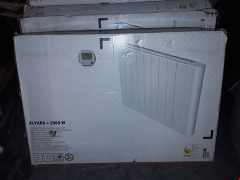 Lot 306 BOXED ALVARA 2000W ELECTRIC RADIATOR