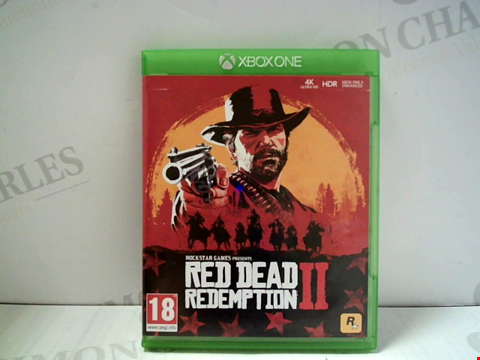 Lot 5797 RED DEAD REDEMPTION II XBOX ONE GAME