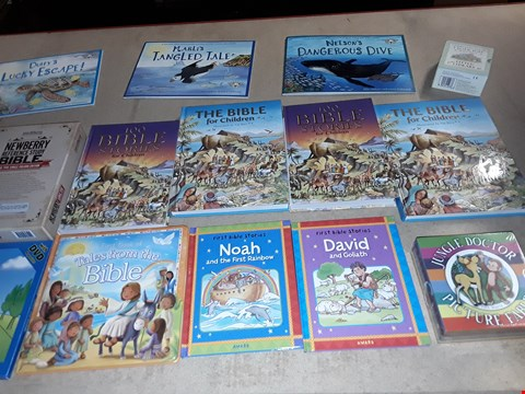 Lot 179 A LOT OF APPROXIMATELY 23 CHILDREN BOOKS