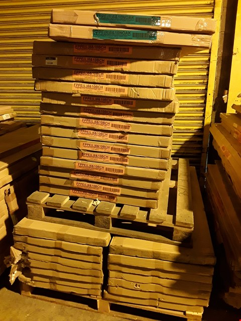 Lot 12108 PALLET OF ASSORTED BOXED OFFICE DESK PANELS