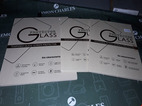 Lot 5258 APPROXIMATELY 3 TEMPERED GLASS SCREEN PROTECTOR