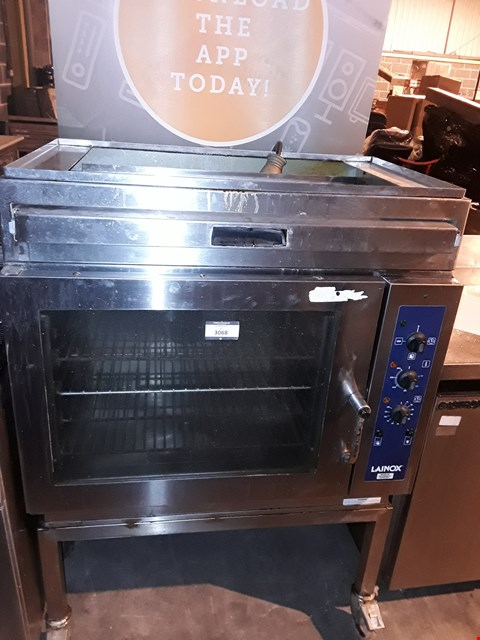 Lot 3068 LAINOX 5 GRID STEAM OVEN WITH STAND