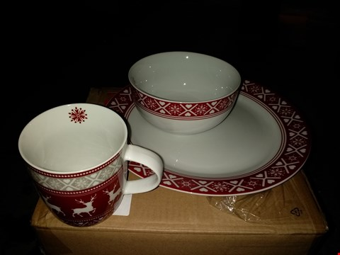 Lot 2293 GRADE 1 NORDIC 16 PIECE DINNER SET  RRP £50.00