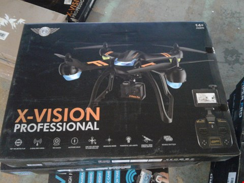 Lot 7825 X-VISION PROFESSIONAL DRONE WITH HD CAMERA
