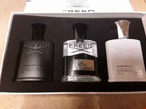 Lot 24 BOXED SET OF 3 CREED PERFUMES