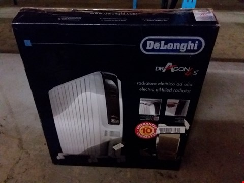 Lot 107 DELONGHI DRAGON 4 OIL FILLED RADIATOR
