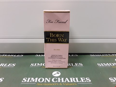 Lot 106 BOXED TOO FACED BORN THIS WAY FOUNDATION