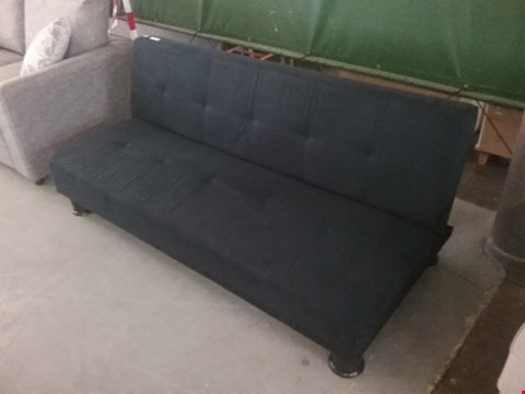Lot 4 ISMI FAUX SUEDE SOFABED RRP £220