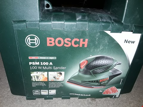 Lot 2263 BOSCH PSM 100A MULTI SANDER