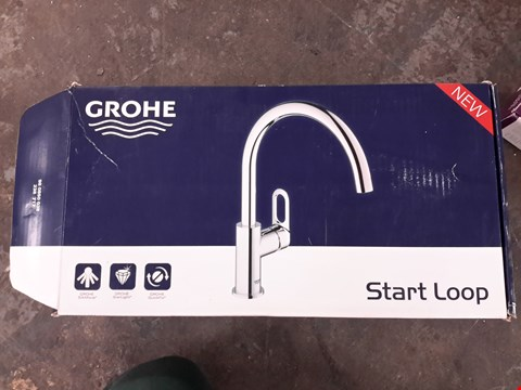 Lot 54 GROHE START LOOP HIGH SPOUT MIXER TAP