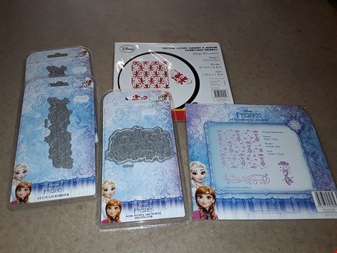Lot 4006 PALLET OF APPROXIMATELY 1247 ASSORTED BRAND NEW CRAFT ITEMS TO INCLUDE DISNEY EMBOSSING FOLDERS