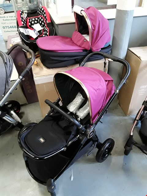 Lot 306 BOXED MAMAS AND PAPAS OCARRO STROLLER AND CARRYCOT