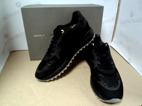 Lot 7099 ANDROID HOMME SAN MONICA BLACK TRAINERS - SIZE 10