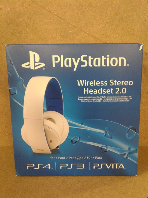 Lot 508 BRAND NEW BOXED PLAYSTATION WIRELESS HEADSET 2.0