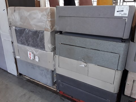 Lot 1401 2 PALLETS OF APPROXIMATELY 8 ASSORTED FABRIC BED BASES