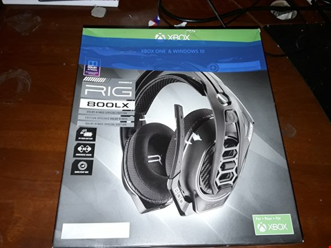 Lot 4312 RIG 800LX WIRELESS GAMING HEADSET