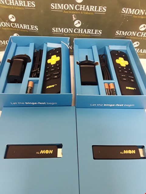 Lot 218 TWO BOXED NOW TV SMART STICKS