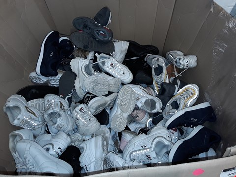 Lot 6091 PALLET OF ASSORTED FILA TRAINERS VARIOUS SIZES