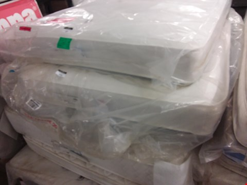 Lot 632 BAGGED 120CM MIRAPOCKET MEMORY MATTRESS