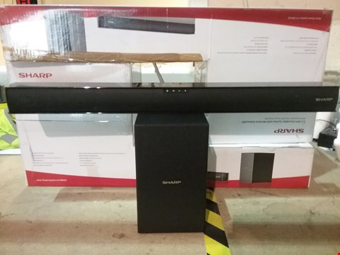 Lot 10 BOXED SHARP 2.1 SLIM SOUNDBAR SYSTEM WITH WIRELESS SUBWOOFER