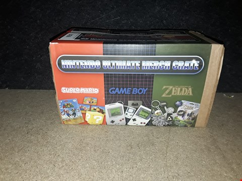 Lot 3036 NINTENDO ULTIMATE MARCH CRATE