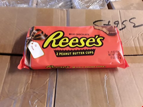 Lot 2332 PALLET OF APPROXIMATELY 14 BOXES OF REESES GIANT PEANUT BUTTER CUPS
