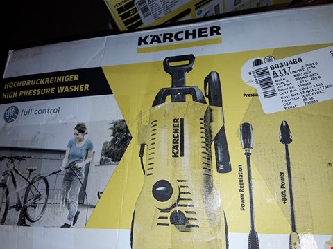 Lot 12545 KARCHER K2 FULL CONTROL PRESSURE WASHER