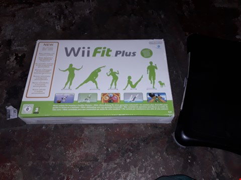 Lot 9107 WII FIT PLUS AND WII BALANCE BOARD