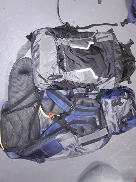 Lot 4042 2 ASSORTED SIZE & COLOUR RUCKSACK