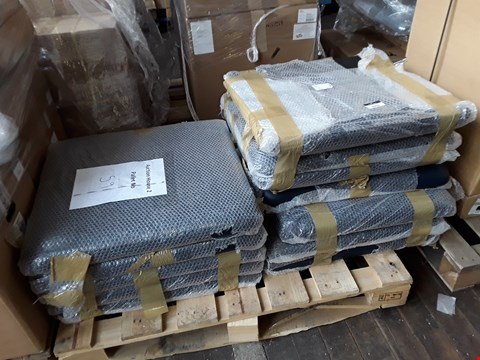 Lot 2062 PALLET OF BRAND NEW BALMAIN BLUE UPHOLSTERED PARTS