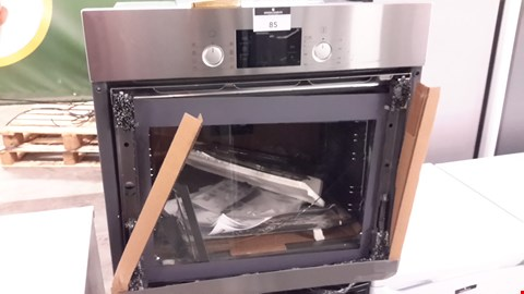 Lot 85 BOSCH HBA63B150B SERIE 6 SINGLE OVEN  RRP £619