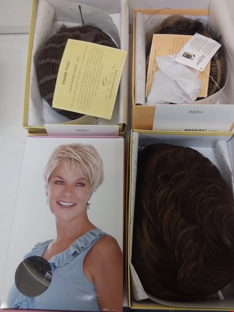 Lot 575 LOT OF 4 ASSORTED WIGS