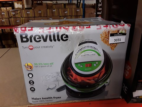 Lot 3031 BREVILLE HALO+ HEALTH FRYER