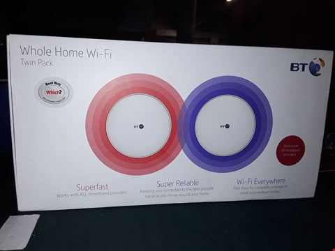 Lot 1092 BT WHOLE HOME WI-FI TWIN PACK