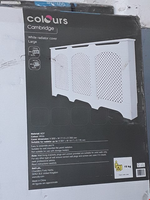 Lot 3055 LOT OF 3 BOXED CAMBRIDGE RADIATOR COVER LARGE