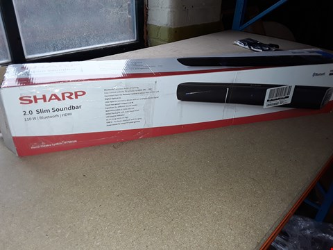 Lot 2022 SHARP 2.0 SLIM SOUNDBAR