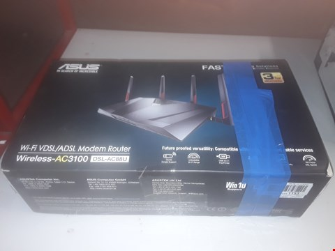 Lot 129 ASUS WIRELESS AC3100 WI-FI VDSL/ADSL MODEM ROUTER