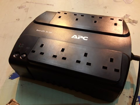 Lot 8063 APC BACK-UPS ES - BE700G-UK - UNINTERRUPTIBLE POWER SUPPLY 700VA (8 OUTLETS, SURGE PROTECTED)