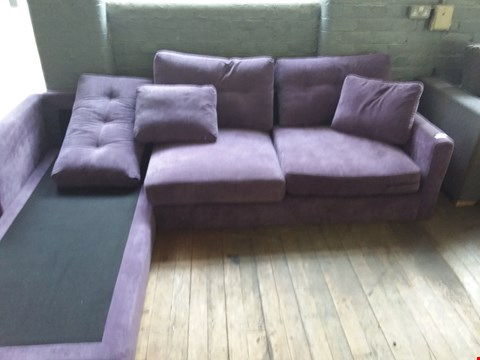 Lot 30 DESIGNER SPHINX 3 SEATER LH CHAISE