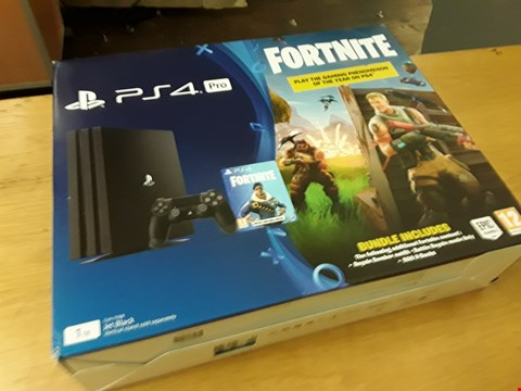 Lot 21 BOXED SONY PS4 PR0 CONSOLE 1TB RRP £519