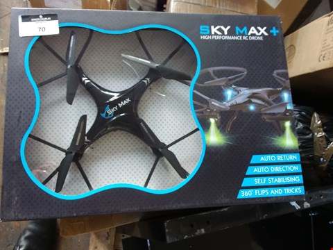 Lot 70 BOXED ELITE SKY MAX HIGH PERFORMANCE DRONE