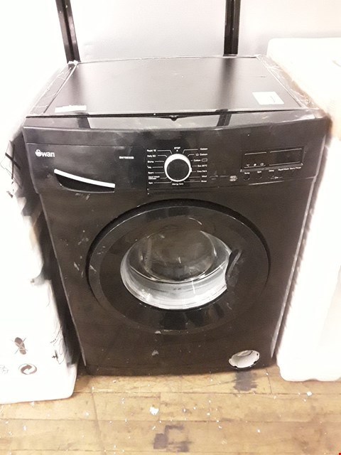 Lot 12132 SWAN SW15830B WASHING MACHINE IN BLACK