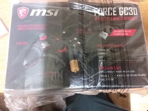 Lot 5 FORCE GC30 WIRELESS CONTROLLER BLACK