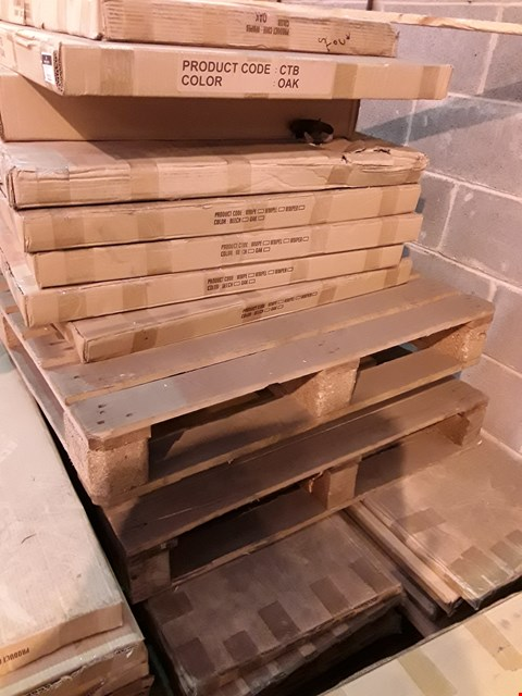 Lot 12113 PALLET OF ASSORTED BOXED OFFICE DESK PANELS