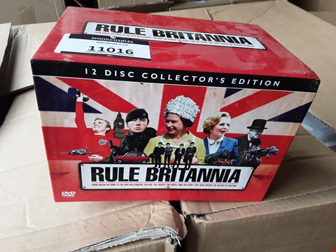 Lot 11016 RULE BRITANNIA 12 DISC COLLECTION