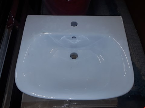 Lot 3029 SEATTLE WHITE CERAMIC BASIN